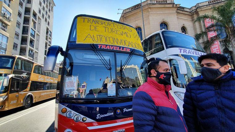 FOTO: Marcha de transportistas
