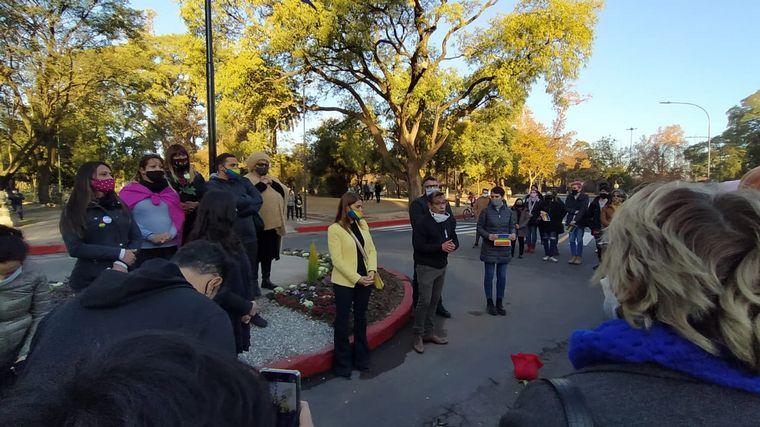 FOTO: Bandera LGBT en Parque Sarmiento