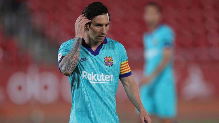 FOTO: Messi tiene un fuerte golpe pero estará ante el Bayern Múnic (Foto de archivo)