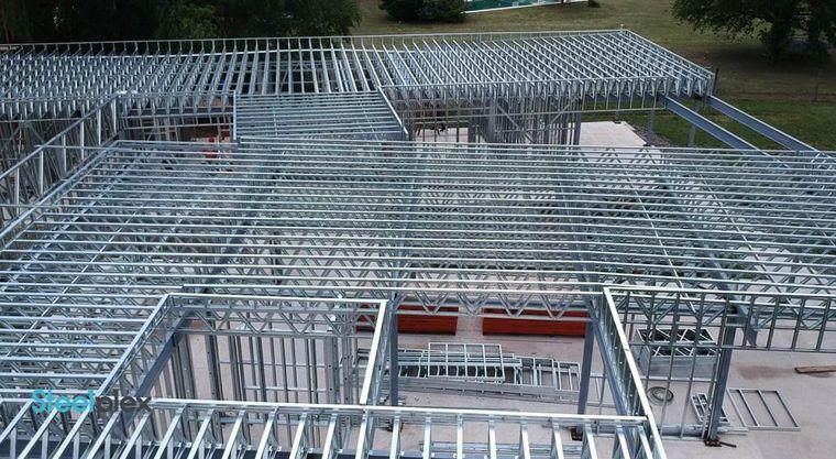 FOTO: Innovar en la construcción ¿por qué construir con acero?