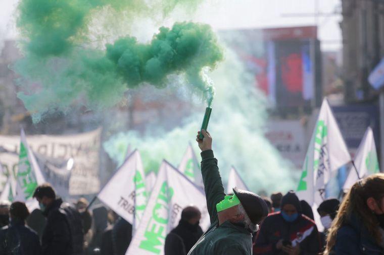 AUDIO: Diferentes protestas del Suoem copan el centro de Córdoba