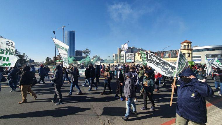 FOTO: Protestas del Suoem en Córdoba