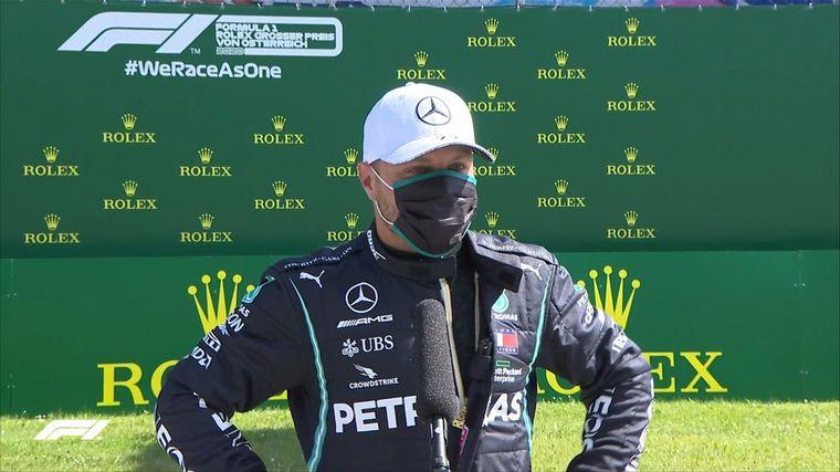 FOTO: Valtteri Bottas se quedó con el '1' en la primera Qualy de la F1 2020