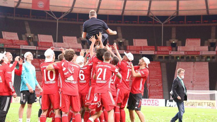 FOTO: Bayern Múnich se consagró bicampeón de la Copa de Alemania.