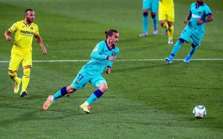 FOTO: Griezmann marcó un golazo para la goleada del Barcelona ante el Villarreal.