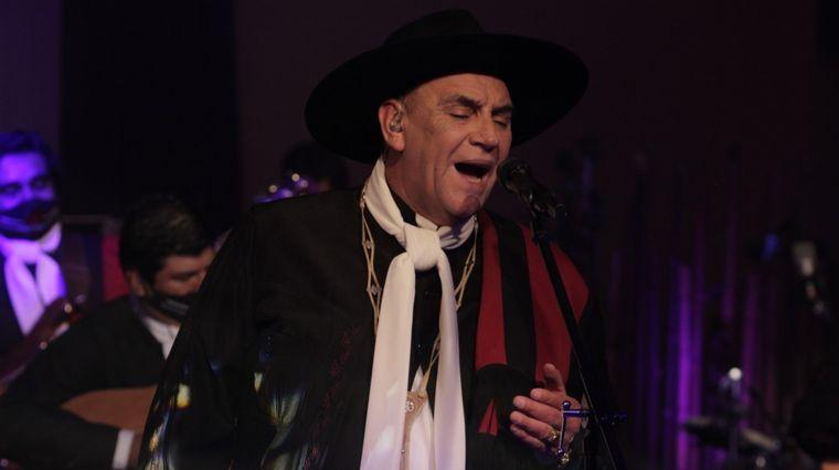 FOTO: El Chaqueño Palavecino estrenó su nuevo trabajo por streaming.