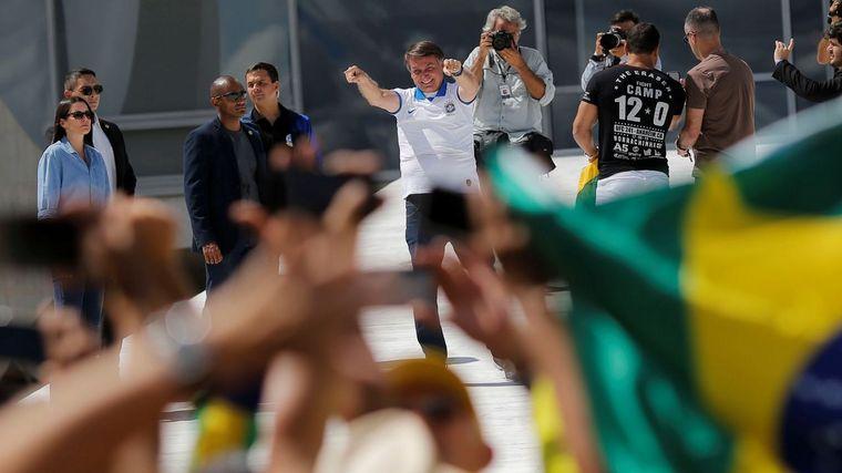 FOTO: Jair Bolsonaro, presidente de Brasil.