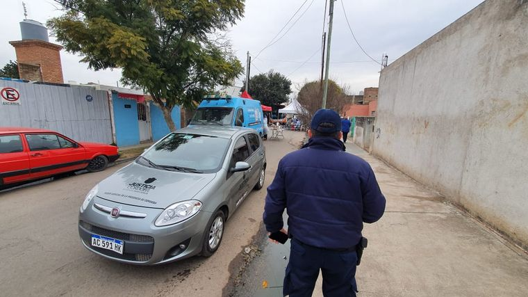 AUDIO: Por el momento no hay cordón sanitario estricto en Barrio Lamadrid