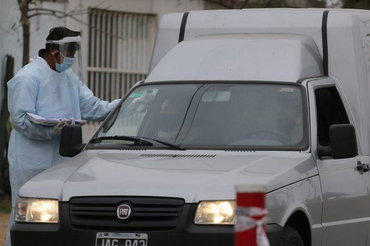 FOTO: Testeos en barrio La Madrid