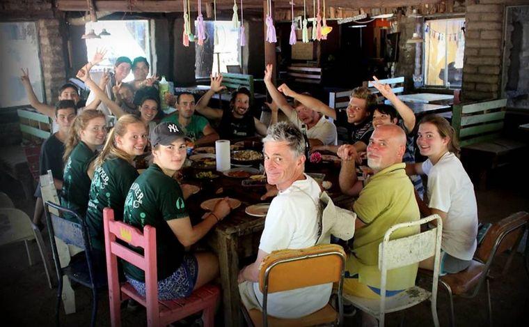 FOTO: Pumakawa se sostiene hace 25 años con el aporte de los turistas.