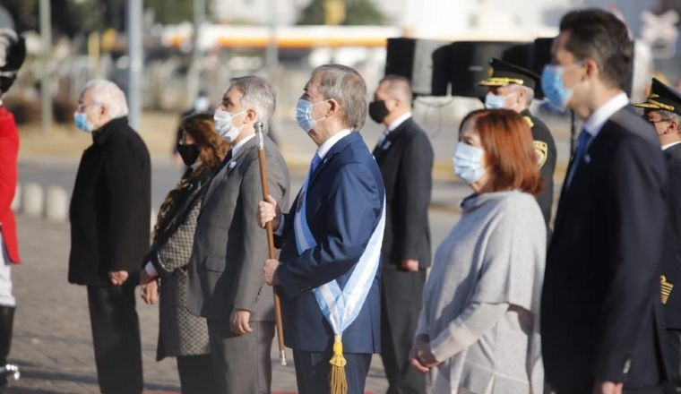 FOTO: Schiaretti encabezó el acto en el Centro Cívico.