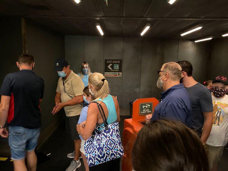FOTO: El parque Disney reabrió sus puertas en plena pandemia (FOTO: Tw @WDWNT)