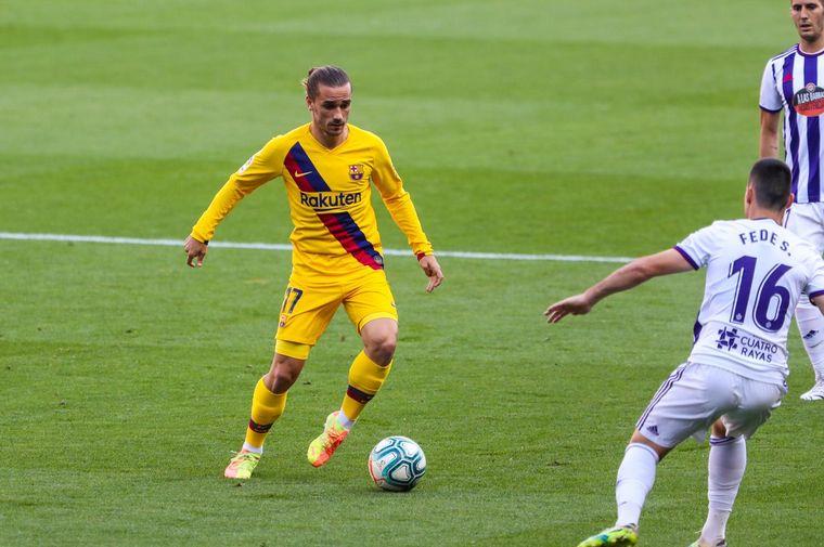FOTO: Barcelona se impuso a Valladolid y se acerca a la punta.