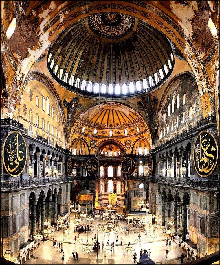 FOTO: Santa Sofía, patrimonio mundial de la Unesco en Turquía.
