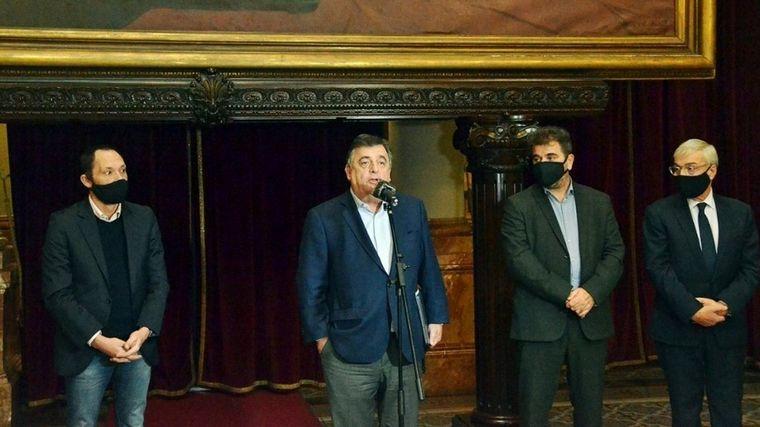 FOTO: Los referentes de Juntos por el Cambio se reunieron de manera virtual.