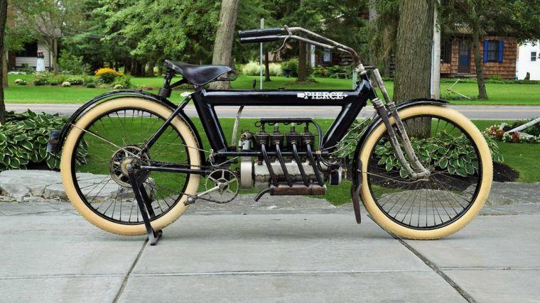 FOTO: Una Pierce Four de 1911 se vendió por U$S 225.500 en la subasta Indy 2020