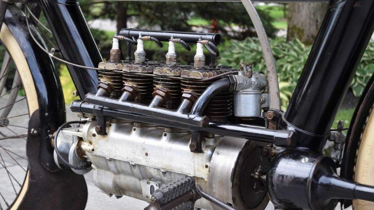 FOTO: La primera Pierce Four fue un diseño de una sola velocidad sin embrague