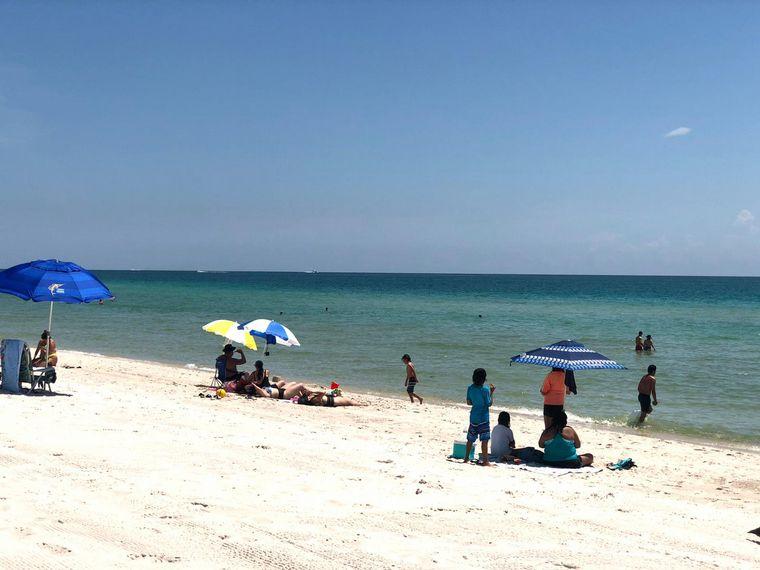 AUDIO: Coronavirus en Estados Unidos: cómo lucen las playas de Miami en plena pandemia