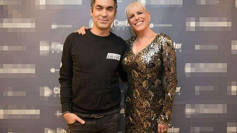 FOTO: Valeria Lynch y Mariano Martínez se conocieron cuando ella hizo un disco de rock.
