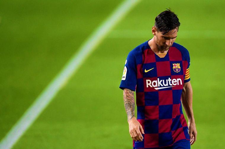 FOTO: Messi fue muy autocrítico tras la derrota.