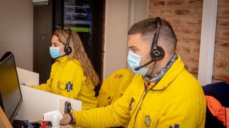 FOTO: Llaryora inauguró nueva oficina del Servicio de Emergencias Médicas 107.