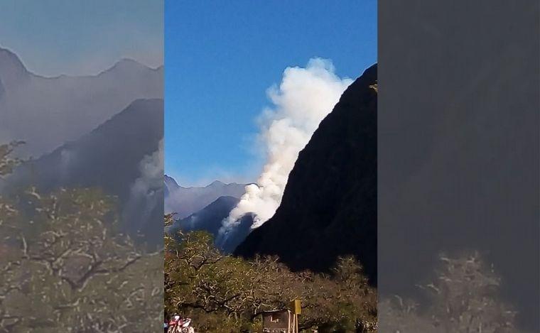 AUDIO: Ya se quemaron 9 mil hectáreas de las yungas salteñas