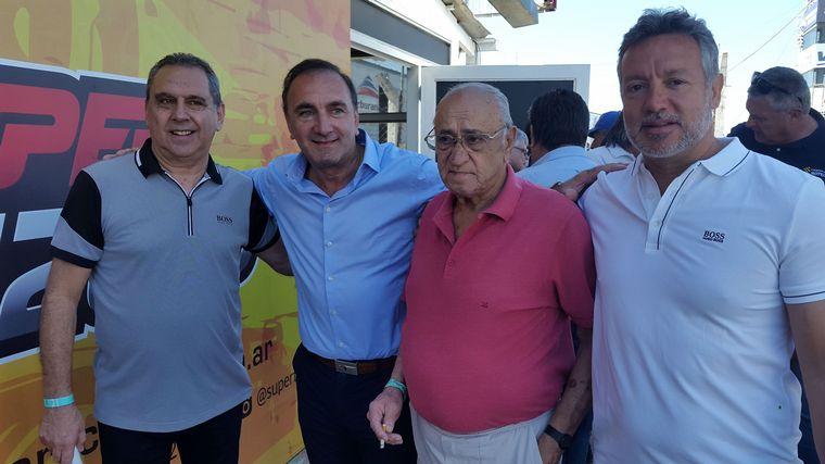 """FOTO: """"Sprinter"""" junto a su amigo Rony Vargas en el Autódromo """"Cabalén"""""""