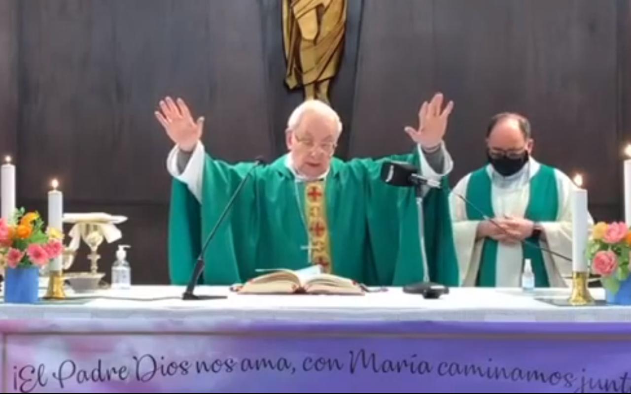 AUDIO: Monseñor Ñáñez celebró otra vez misa presencial y pidió cuidados (Foto ilustrativa)