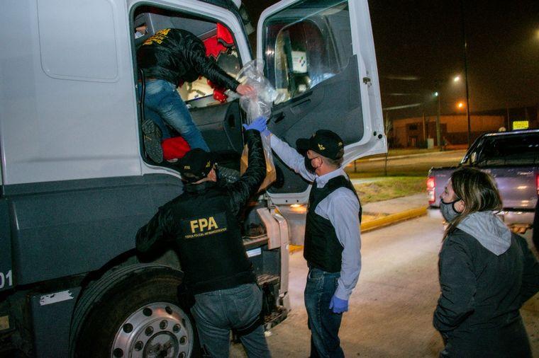 FOTO: Detienen a una banda narco en Villa María.