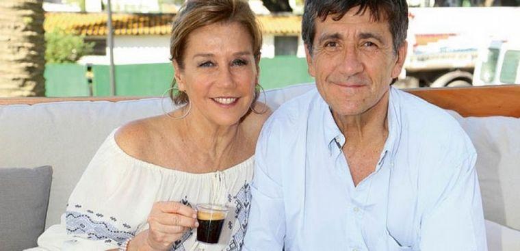 FOTO: Murió Marcos Gastaldi, ex marido de Marcela Tinayre.
