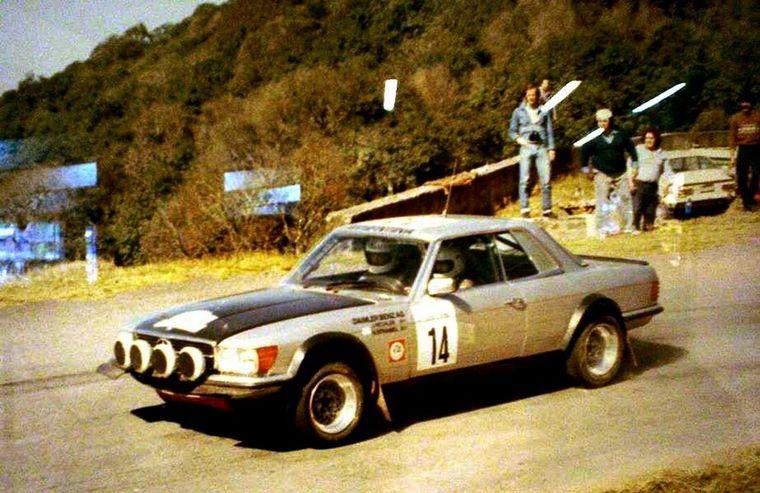 FOTO: El alemán Walter Röhrl con Fiat 131 Abrarth (Nº2), ganador en 1980.