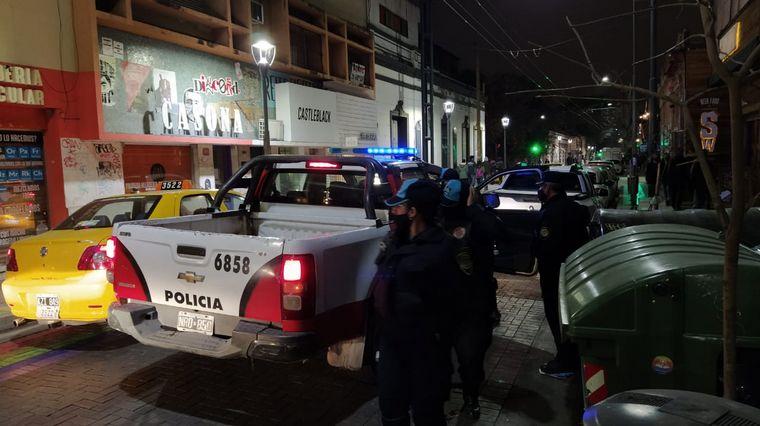 FOTO: Hubo un amplio despliegue policial en Güemes, Nueva Córdoba y el Cerro.