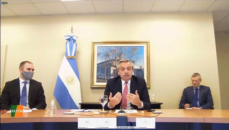 FOTO: Gobierno ratificó que la última oferta a acreedores es