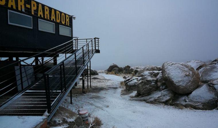 FOTO: Nieve en las Altas Cumbres.
