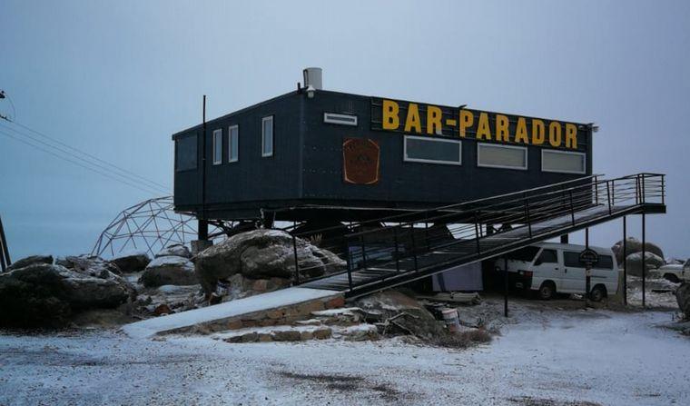 AUDIO: Las Altas Cumbres amanecieron con un manto blanco