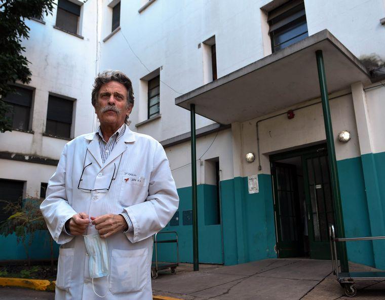 FOTO: Tomás Orduna, infectólogo e integrante del grupo de asesores del Presidente.