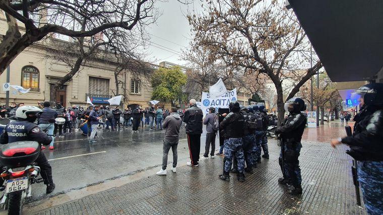 FOTO: Protesta de Aoita