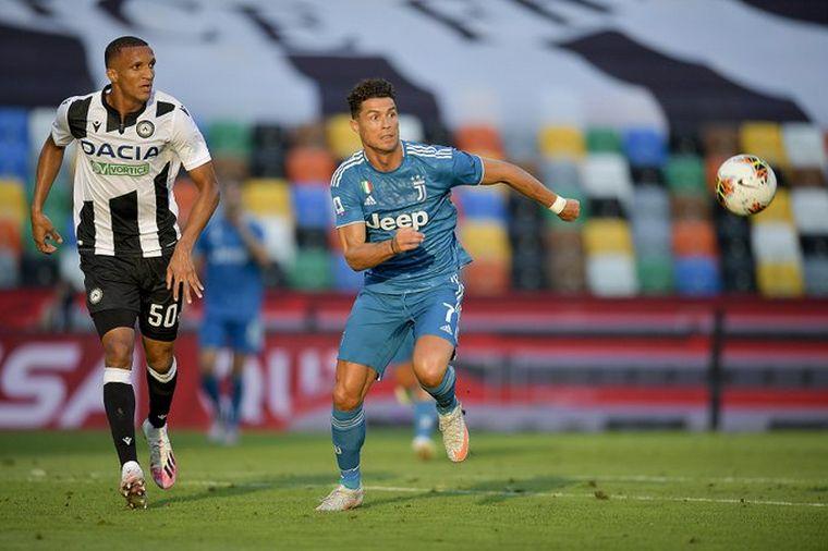 FOTO: Juventus no pudo gritar campeón ante Udinese, pero sigue cerca de la consagración.