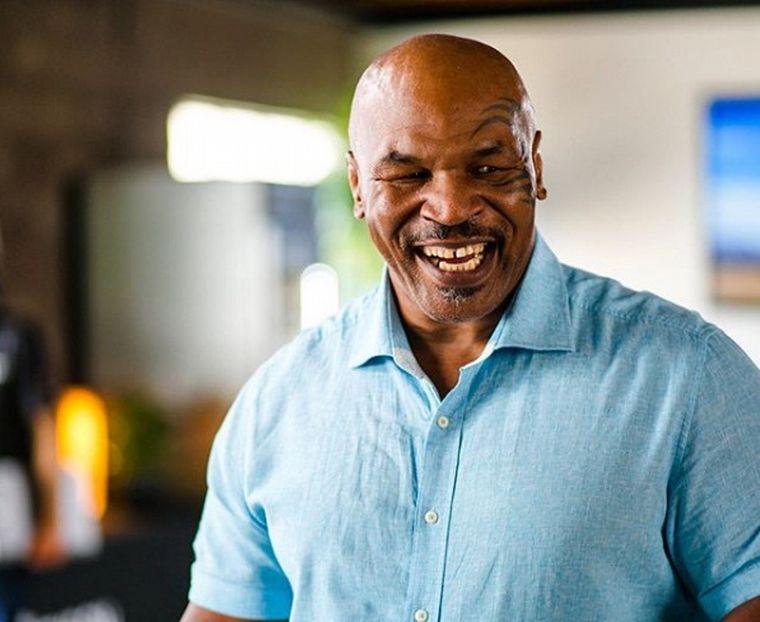 FOTO: Mike Tyson, leyenda del boxeo mundial.
