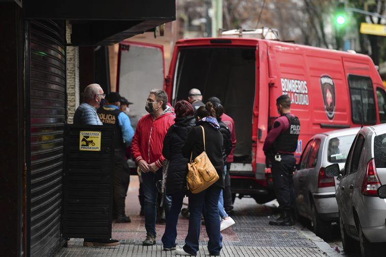 FOTO: El asalto se produjo en una zapatería de la calle Membrillar al 25.