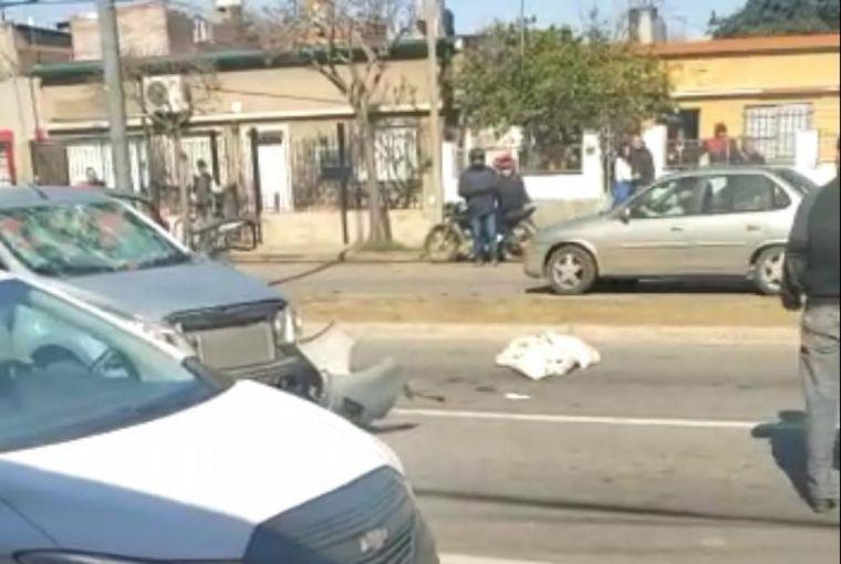 AUDIO: Accidente fatal desató ira en barrio Barranquitas de Santa Fe