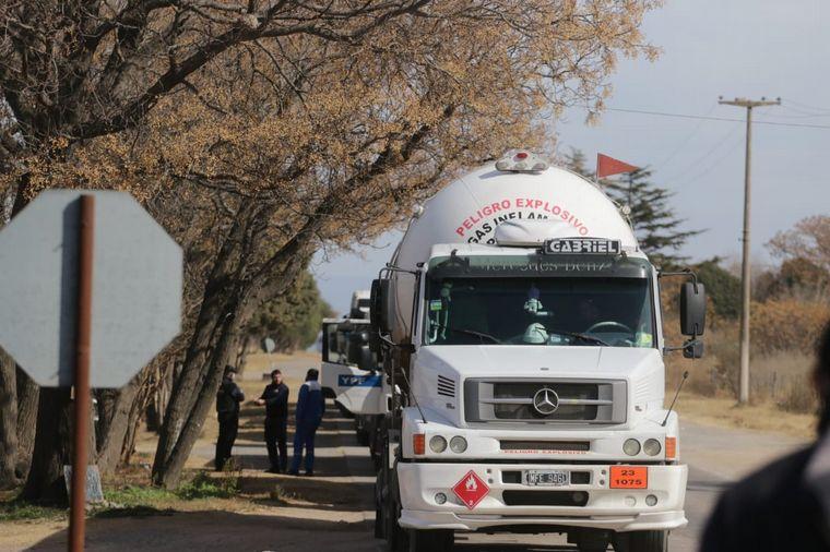 AUDIO: Asamblea de camioneros en la planta de YPF de Monte Cristo