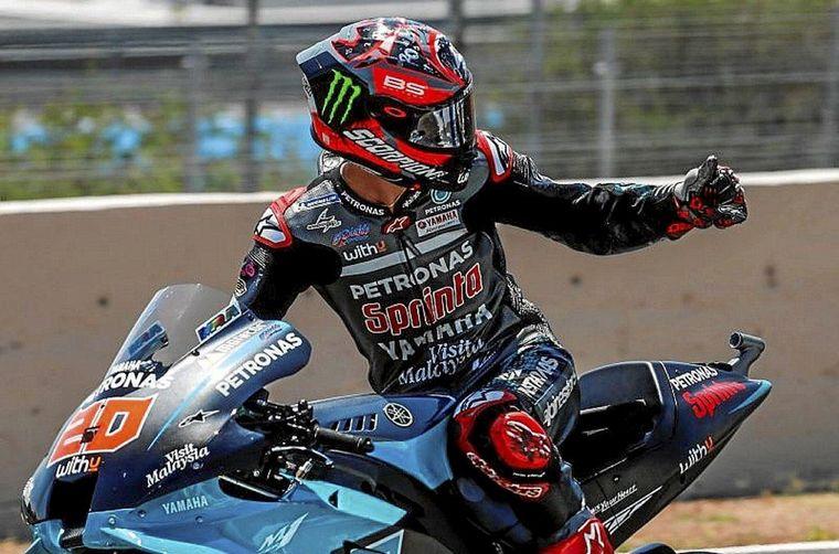 FOTO: Quartararo volvió a ganar en Jerez para la segunda del MotoGP