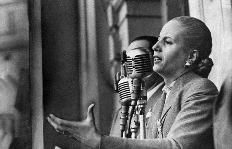 FOTO: Alberto Fernández recordó a Evita