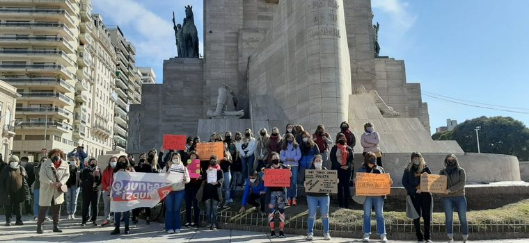 FOTO: Marcha por el femicidio de Julieta Del Pino