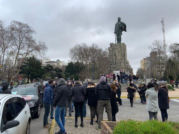 AUDIO: Hoteleros marplatenses protestaron para pedir la emergencia
