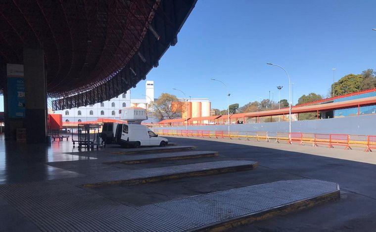 FOTO: Desolación en Terminal de Ómnibus de Córdoba.