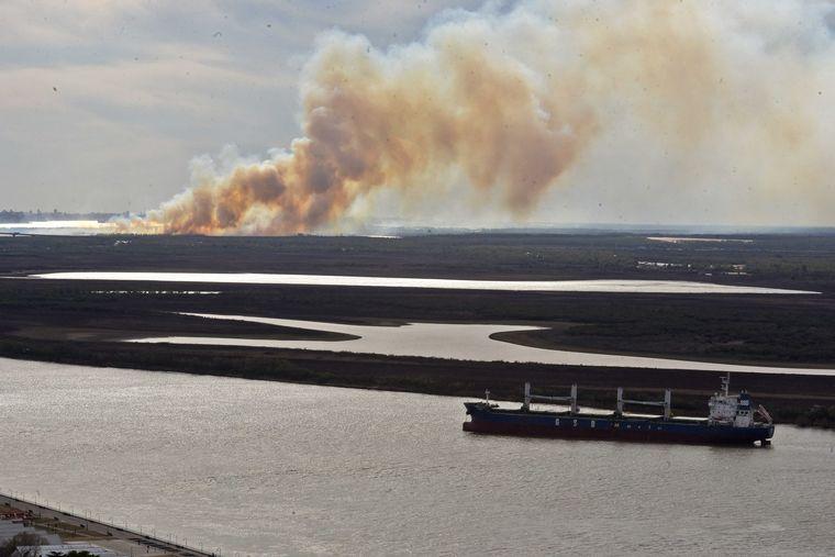 AUDIO: Califican a los incendios en los humedales de Entre Ríos como