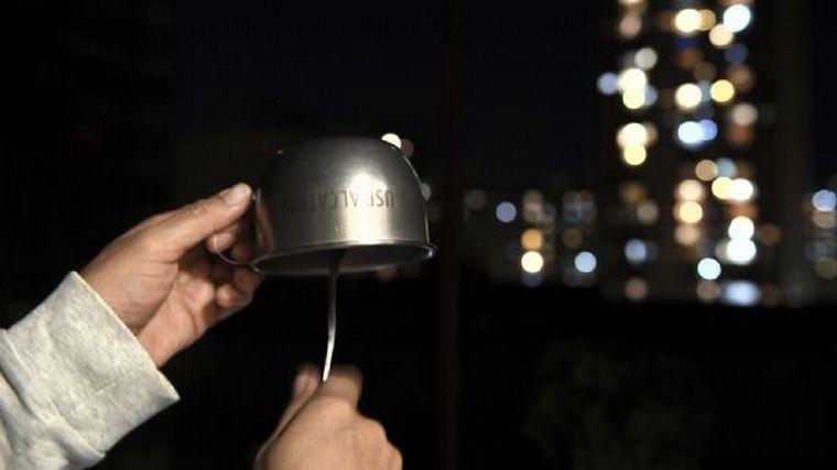 FOTO: Los cacerolazos fueron en Buenos Aires.