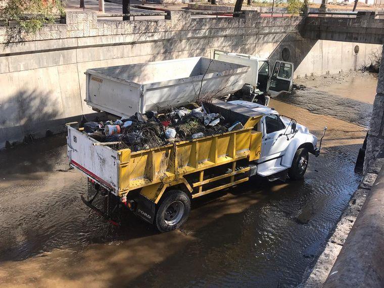 AUDIO: Recolectan 12 mil kilos de basura en 300 metros de La Cañada